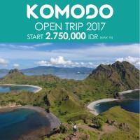 OPEN TRIP KOMODO Jun-Dec 2017 (Premium AC) 4D3N start Labuan Bajo