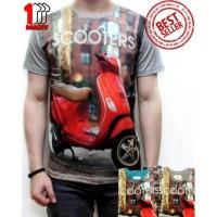 Jual koleksi baju polo tshirt pria keren Kaos 3D Tshirt Distro Cowok Baju Murah