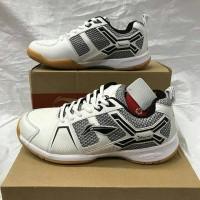 Sepatu Badminton LiNing Cross White