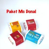 4PCS Paket Mc Donal Magnet Kulkas