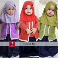 Setelan Kebaya Kutubaru Calista 3-4 tahun   Baju Muslim Anak Perempuan