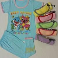 Jual piyama anak 9-10-11-12TH BABY SHARK TSUM TSUM LITTLE PONY MINNIE Murah