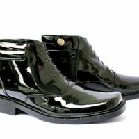sepatu pdh sepatu boots sepatu tni polri sepatu kulit sepatu pria beli