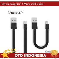 Remax Tengy Micro USB Cable 2 in 1  - RC-062m
