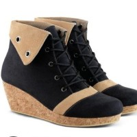 harga Sepatu Boot Casual Boots Kasual Wanita Cewek Terbaru Az182 Tokopedia.com