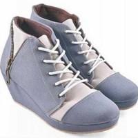 harga Sepatu Boot Boots Casual Santai Wanita Cewek Az184 Tokopedia.com