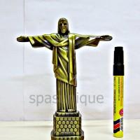 MINIATUR PATUNG JESUS BRAZIL