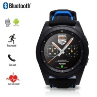 TRAND Smartwatch No 1 G6 sports Black Heart Rate jam pintar sport no