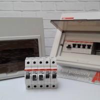 NEW ABB MCB Box 10 Module SCP 10 Inbow FIRE REPELLANT ORIGINAL