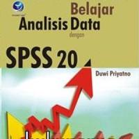 Buku KOMPUTER Buku Cara Kilat Belajar Analisis Data dengan SPSS 20