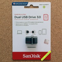 NEW ARRIVAL 32GB SanDisk Ultra Dual USB Drive 3 0 OTG Flash Drive JV