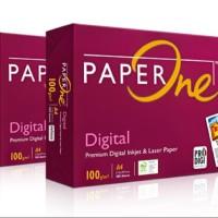 Harga kertas fotocopy a4 100 gram paper one | Pembandingharga.com