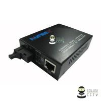 Harga simplex single mode fiber gigabit media converter 1550 1310nm type | Pembandingharga.com