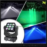 Lampu led moving head matrix panel review 9 x 10W NJ007