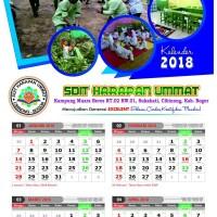 kalender dinding 2016 32 x 48 cm (pribadi/organisasi) caturwulan