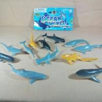 Ocean World Seri Ikan Hiu, Paus dan Lumba lumba mini