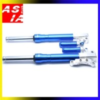 UP SIDE DOWN MOTOR RACING YAMAHA MIO BLUE SPAREPART ONDERDIL BAHAN CNC