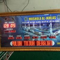 Jam digital sholat masjid murah 1