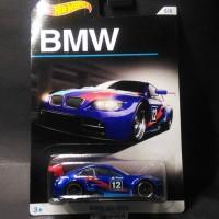 Hotwheels hot wheels BMW 100th Anniversary BMW M3 GT2 Blue Biru