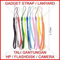 Harga gadget strap gantungan tali lanyard handphone hp usb flashdisk | antitipu.com