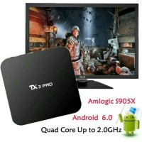 Jual Android Tv Box TX3 Pro Android 6.0 Marshmallow Amlogic S905X 4K Murah