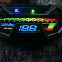 Speedometer new CB150R Modifikasi 20 warna
