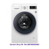 MESIN CUCI 9 KG LG FC-1409S3W FRONT LOADING INVERTER DIRECT DRIVE NEW