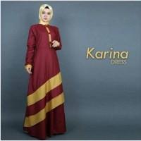 hitam marun kuning abu maxi gaun baju pesta muslim gamis casual elegan
