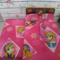 Tempat Tidur Spring Bed Kasur Boneka Barbie Model Sorong Atas Bawah