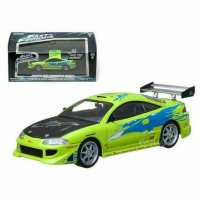 Diecast Fast Furious Brian 1995 Mitsubishi Eclipse by Greenlight 1/43