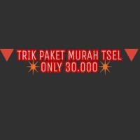 TRIK PAKET INTERNET TSEL TELKOMSEL SIMPATI AS MURAH 30.000
