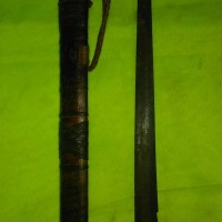 Senjata tradisional adat dayak asli sepuh bahari