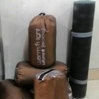 Jual Paket Camping Sleeping Bag Polar Lafuma dan Matras Camping 3mm Murah
