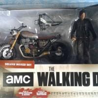 Jual Mcfarlane The Walking Dead-Daryl Dixon with Custom Bike-Boxed Set Murah