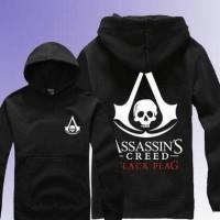 Hoodie Jaket Assassin Creed Black Flag - Unisex
