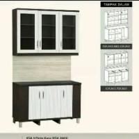 Kitchen Set 3 Pintu Atas Dan Bawah 2663-43