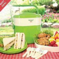 Picnic Time Hamper Green set / Paket Piknik Tempat Makanan Hijau