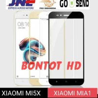 Xiaomi Mi A1 MiA1 - Mi5X Mi 5X Tempered Glass Color Full Layar HP