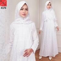 Baju Gamis Putih Baju Manasik Baju Umroh Baju Haji Baju muslim wanita