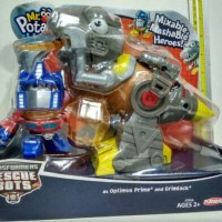transformers optimus prime & grimlock mr. potato