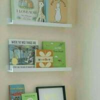 Jual 3pcs rak dinding minimalis / floating shelves / rak ambalan /rak buku Murah