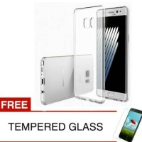 Case for Samsung Note FE/Fan Edition - Bening+gratis Tempered glass