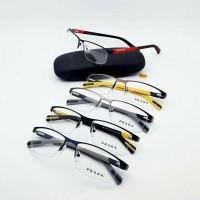 Frame kacamata baca minus plus Prada Warna