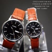 Jual Jam tangan couple murah CK guess tali kulit fossil termurah grosir Murah