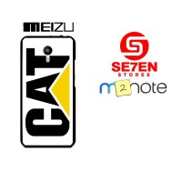 Casing HP Meizu M2 Note caterpillar logo Custom Hardcase