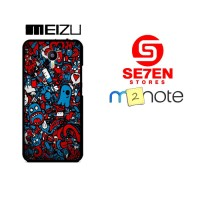 Casing HP Meizu M2 Note Design Wallpapers 2 Custom Hardcase