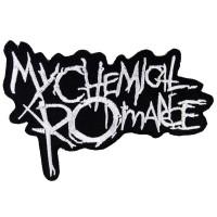 EMBLEM BORDIR TEMPEL PATCH MY CHEMICAL ROMANCE 12X9CM