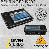 BEHRINGER iSTUDIO iS202 iPad Docking Station With Audio Video MIDI