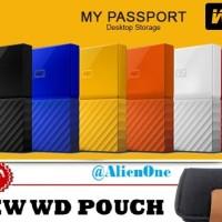 Jual WD My Passport NEW 1TB - HDD 1 TB Hardisk Harddisk Eksternal External Murah