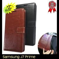 Samsung Galaxy J7 Prime Retro PU Leather Flipcase Luxury Wallet Cover
